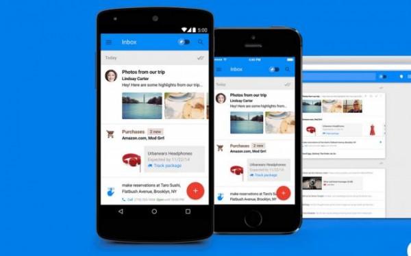 Googles nye e-mail-tjeneste til Android og iOS