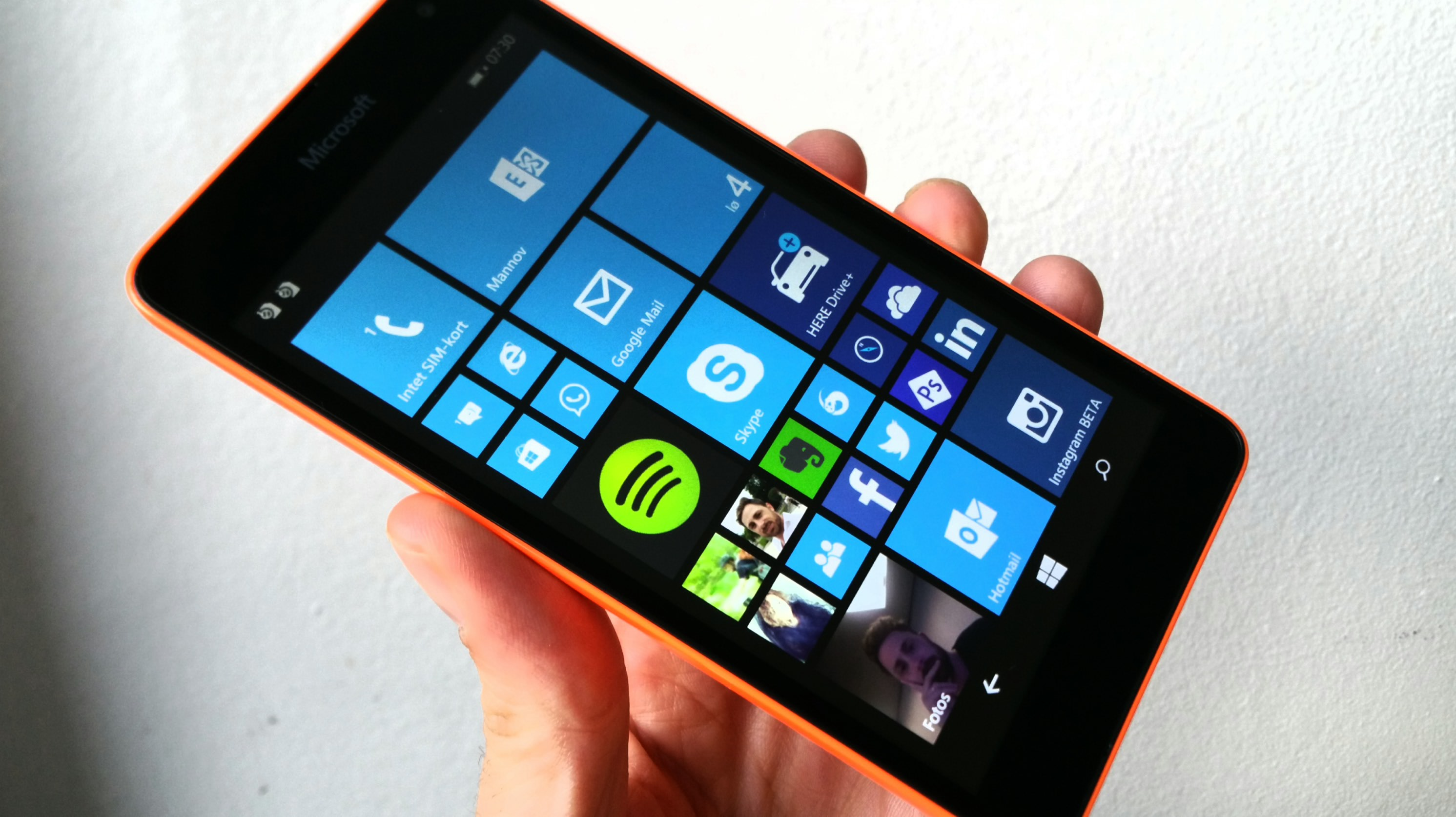 lumia 535 test