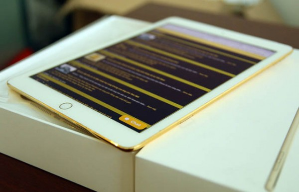Galleri: Se iPad Air 2 i 24 karat guld