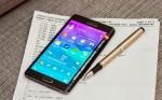 Samsung Galaxy Note Edge test: Skærm med sidekick