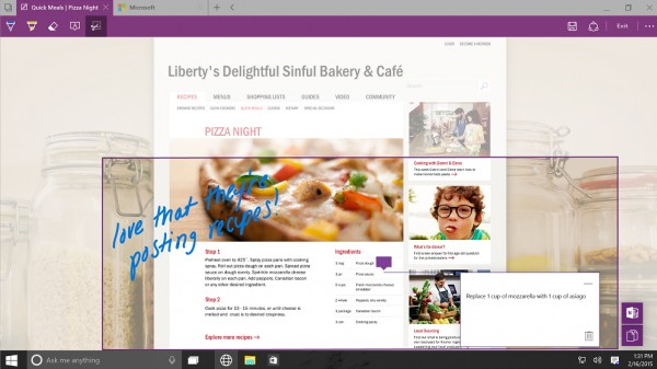 Sådan er den nye Windows 10-beta – Project Sparten skuffer