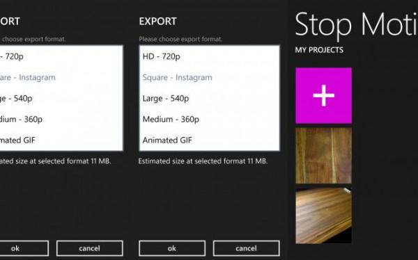 Stop Motion Studio test – lav flotte film på Windows Phone
