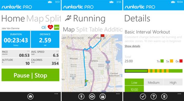 runtastic app til træning