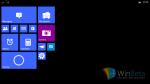 Billeder af Windows 10 til små tablets