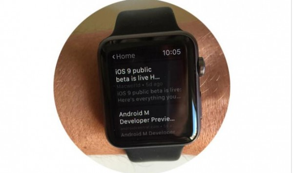 Instapaper til Apple Watch (app-test)