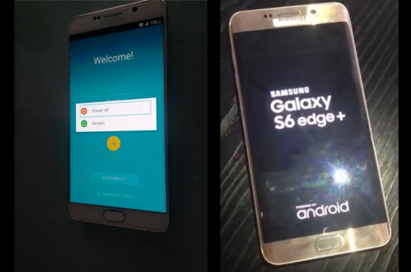 Lækage: Fungerende Galaxy Note 5 og S6 Edge+