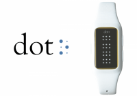 dot smartwatch blind