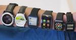 Der sælges flere wearables, især smartwatch