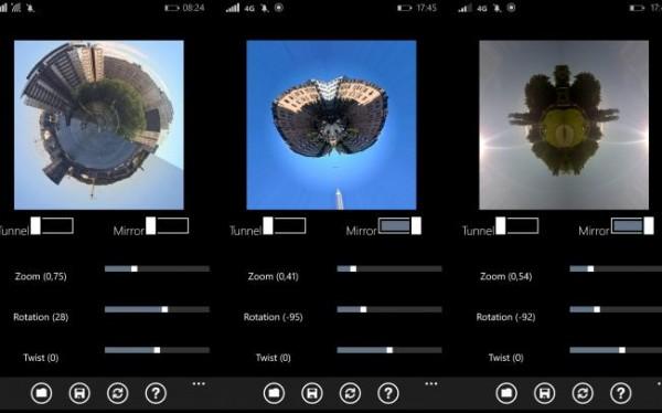 Effektfulde billede på en enkel måde til Windows Phone (test af app)