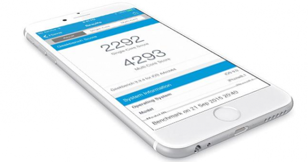 Benchmark-test: iPhone 6S er en uhyre kraftfuld mobil