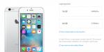 Apple stopper salget af iPhone 6 og iPhone 6 Plus med 128 GB