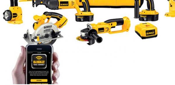 Smarte batterier: Værktøjstjek i mobilen fra Dewalt