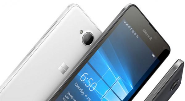 Microsoft Lumia 650 Dual to simkort
