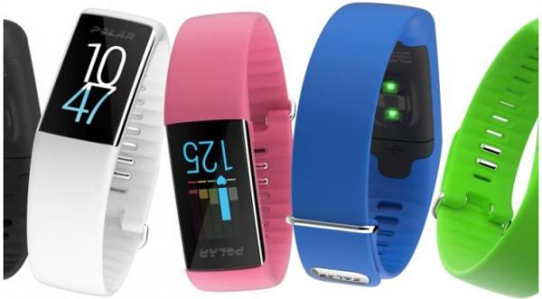 Her er Polars nye armband med pulsmåler