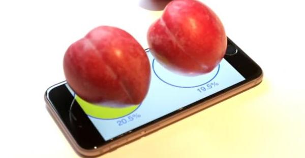Også iPhone 6S kan nu bruges som frugtvægt