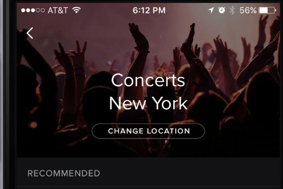 Opdag koncerter tæt på dig med ny Spotify-funktion