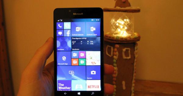 Første indtryk af Lumia 950