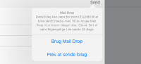 mail drop ios 9 iphone