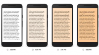 google play books natttevisning