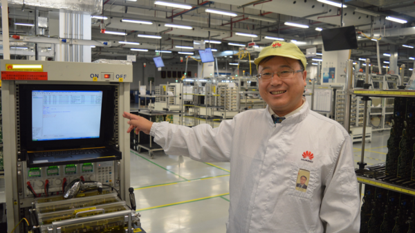 Foxconn: Kinas tid som verdens fabrik er slut