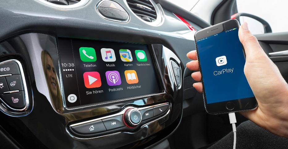 Opel klar til Apple CarPlay - Android Auto på vej