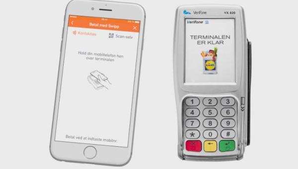 20d4d77c Lidl vil tilbyde kontaktløs mobilbetaling i 98 butikker via Swipp