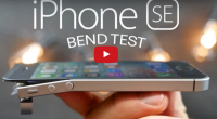 iphone se bendtest bøjetest