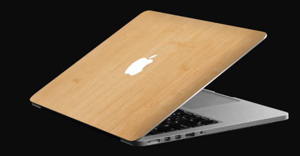 macbook bamboo cover