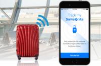samsonite track&go bortkommen bagage kuffert