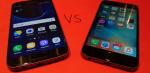 Galaxy S7 vs iPhone 6S – hvilken er bedst?