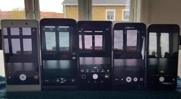 Kameratest: De 5 bedste kameramobiler lige nu i dyst