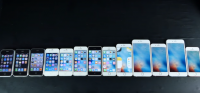 iphone sammenligning iphone 6s, iphone 6, iphone se iphone 5s