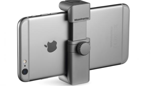 Billeder og video: Manfrotto klar med smart telefongreb til alle mobiler