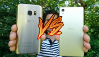 galaxy s7 vs xperia x kamera fight