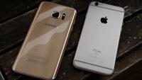 bedste kamera iphone 6s vs galaxy s7