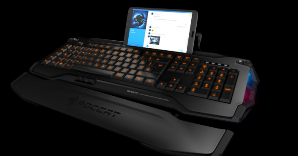 roccat gaming keyboard android ios