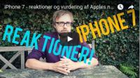 iphone 7 vurdering reaktioner