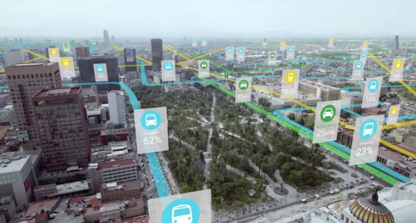 google maps urban engine trafikinformationer