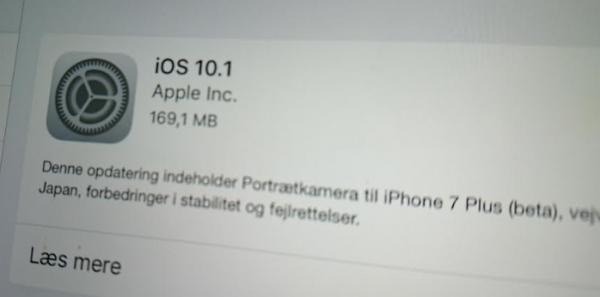 iphone 7 plus portræt app