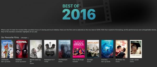 best of 2016 app store