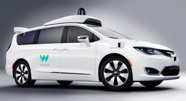 google waymo selvkørende bil