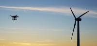 drone vindmølle