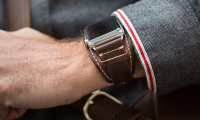 remme til apple watch Pad & Quill Lowry Leather Cuff