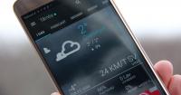 bedste vejr app