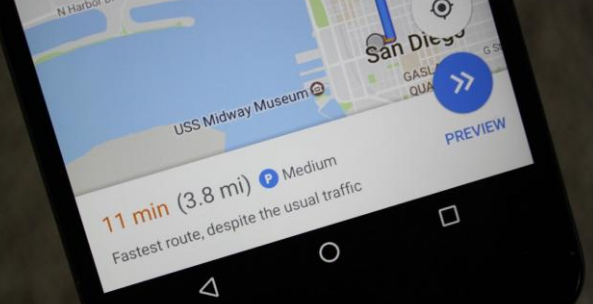 google maps parkeringsinformation