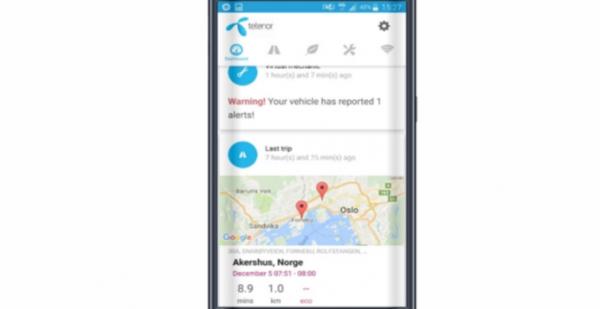 telenor connect smart bil