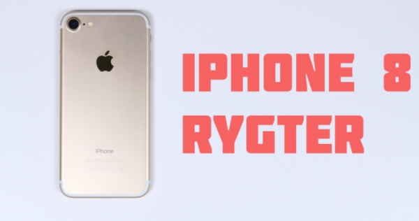 iPhone 8 rygtes at få lynopladning