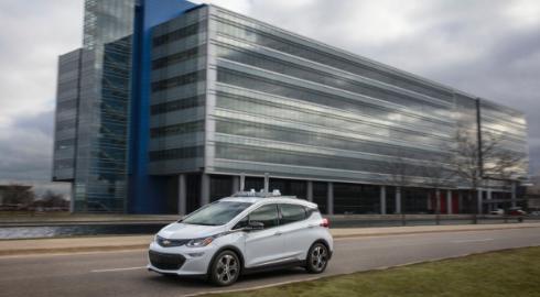 GM lyft selvkørende biler