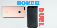 huawei p10 vs iphone 7 plus portræt