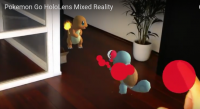 pokemon go hololens AR VR